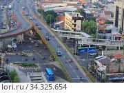 Jakarta eases a partial lockdown despite COVID-19 cases. Стоковое фото, фотограф Yogi Aroon Sidabariba / INA Photo Agency / age Fotostock / Фотобанк Лори