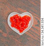Tomaten Ketchup in einer weißen Schale für die Food Fotografie Tomato... Стоковое фото, фотограф Zoonar.com/Volker Schlichting / easy Fotostock / Фотобанк Лори
