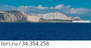 Bimssteinabbau auf der Insel Gyali zwischen den Inseln Kos und der... Стоковое фото, фотограф Zoonar.com/Volker Schlichting / easy Fotostock / Фотобанк Лори