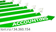 Купить «Accounting Consulting Business Services as Concept», фото № 34360154, снято 5 августа 2020 г. (c) easy Fotostock / Фотобанк Лори