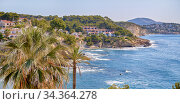 Coastline of Benissa. Costa Blanca. Spain. Стоковое фото, фотограф Alexander Tihonovs / Фотобанк Лори