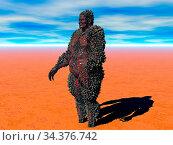 Monster steht in der Wüste. Стоковое фото, фотограф Zoonar.com/Dr. Norbert Lange / easy Fotostock / Фотобанк Лори