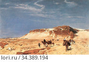 Bracht Eugen Felix Prosper - Aus Der Sinai-Wüste - German School - ... Редакционное фото, фотограф Artepics / age Fotostock / Фотобанк Лори