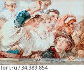 Bach Guido - Het Afscheid - German School - 19th and Early 20th Century... Редакционное фото, фотограф Artepics / age Fotostock / Фотобанк Лори