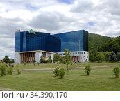 Seneca Allegany Resort & Casino, Salamanca, New York, USA. Стоковое фото, фотограф Barrie Fanton / age Fotostock / Фотобанк Лори