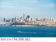 Beautiful cityscape of San Francisco and San Francisco Bay landscape... Стоковое фото, фотограф Zoonar.com/Vichie81 / easy Fotostock / Фотобанк Лори