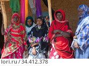 Hobyo Kebele, Somali Region, Ethiopia - OWDA Microfinance Project. Редакционное фото, агентство Caro Photoagency / Фотобанк Лори