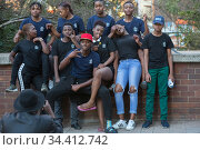 Johannesburg, South Africa - Outreach Foundation, Hillbrow (2018 год). Редакционное фото, агентство Caro Photoagency / Фотобанк Лори