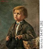 Granstedt Hilda - Poika Ja Kengänauhat - Finnish School - 19th Century... Редакционное фото, фотограф Artepics / age Fotostock / Фотобанк Лори