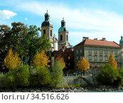 Innsbruck, inntal, tirol, österreich, austria, stadt, innenstadt,dom... Стоковое фото, фотограф Zoonar.com/Volker Rauch / easy Fotostock / Фотобанк Лори