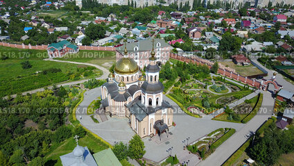 St. Alexievsky Temple and the Temple of Smolensk Mother of God,