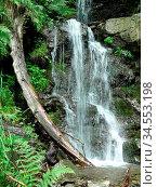 Wasserfall, gebirge, kaskade, wasser, bach, alpen, südtirol, natur... Стоковое фото, фотограф Zoonar.com/Volker Rauch / easy Fotostock / Фотобанк Лори