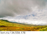 View on landscape of Big Island. Hawaii. USA. Стоковое фото, фотограф Zoonar.com/Dmitry Kushch / age Fotostock / Фотобанк Лори