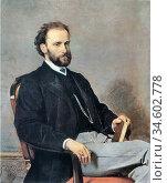 Boldini Giovanni - L 'avvocato Comotto - British School - 19th Century... Стоковое фото, фотограф Artepics / age Fotostock / Фотобанк Лори
