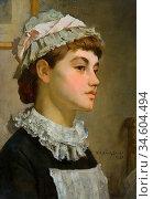 Breakspeare William Arthur - the Maidservant - British School - 19th... Стоковое фото, фотограф Artepics / age Fotostock / Фотобанк Лори