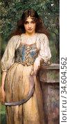 Breakspeare William Arthur - Resting - British School - 19th Century. Стоковое фото, фотограф Artepics / age Fotostock / Фотобанк Лори