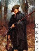 Breakspeare William Arthur - the Gamekeeper - British School - 19th... Стоковое фото, фотограф Artepics / age Fotostock / Фотобанк Лори