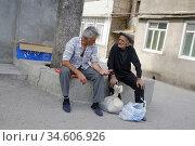 Street life in Stepanakert, Nagorno Karabakh republic. (2006 год). Редакционное фото, фотограф Andre Maslennikov / age Fotostock / Фотобанк Лори