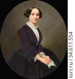 Vogel Von Vogelstein Carl Christian - Portrait of a Young Lady in... Редакционное фото, фотограф Artepics / age Fotostock / Фотобанк Лори