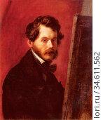 Vogel Von Vogelstein Carl Christian - Portrait of the Painter Friedrich... Редакционное фото, фотограф Artepics / age Fotostock / Фотобанк Лори