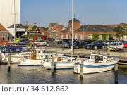 Der Hafen von Rudköbing, Insel Langeland, Dänemark, Europa   Rudköbing... Стоковое фото, фотограф Peter Schickert / age Fotostock / Фотобанк Лори