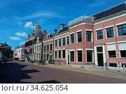 Altstadt in Sneek. Friesland, Niederlande. Стоковое фото, фотограф Zoonar.com/Gabriele Sitnik-Schmach / easy Fotostock / Фотобанк Лори
