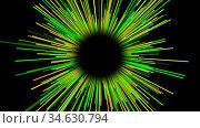 Starburst dynamic lines or rays in space, funny cartoon style, bright... Стоковое фото, фотограф Zoonar.com/Roman Budnikov / easy Fotostock / Фотобанк Лори