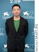 Danny Liu ( producer ) during the photocall at the 77th Venice Film... Редакционное фото, фотограф Maria Laura Antonelli / AGF/Maria Laura Antonelli / age Fotostock / Фотобанк Лори