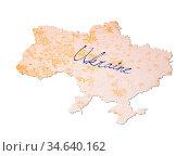 Ukraine - Old paper with handwriting, blue ink. Стоковое фото, фотограф Zoonar.com/Micha Klootwijk / age Fotostock / Фотобанк Лори