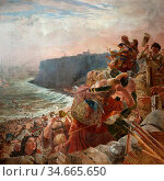 Scott William Bell - the Danes Descend upon the Coast and at Last... (2020 год). Редакционное фото, фотограф Artepics / age Fotostock / Фотобанк Лори