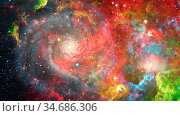 Nebula and galaxies in space. Elements of this image furnished by... Стоковое фото, фотограф Zoonar.com/Irina Dmitrienko / easy Fotostock / Фотобанк Лори