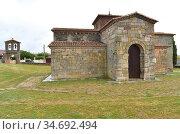 San Pedro de la Nave visigothic church 7-8th centuries. El Campillo... Стоковое фото, фотограф J M Barres / age Fotostock / Фотобанк Лори