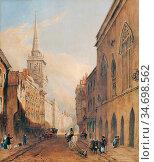 Ince Joseph Murray - Bristol - British School - 19th Century. Редакционное фото, фотограф Artepics / age Fotostock / Фотобанк Лори