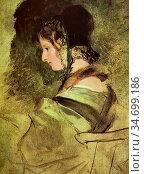 Landseer Sir Edwin Henry - Portrait of Lady Dyke - British School... Редакционное фото, фотограф Artepics / age Fotostock / Фотобанк Лори