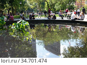 Madison Square Park, NYC. Стоковое фото, фотограф joan slatkin / age Fotostock / Фотобанк Лори