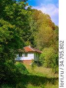 House in the Devin River Valley, Western Rhodopes. Стоковое фото, фотограф Zoonar.com/Sergej Razvodovskij / easy Fotostock / Фотобанк Лори