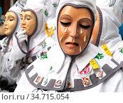 Die Lauratalgeister sind Figuren der Plätzlerzunft Weingarten, schäbisch... Стоковое фото, фотограф Zoonar.com/Bindig / age Fotostock / Фотобанк Лори