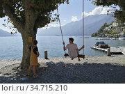 Switzerland, Canton Ticino, Ascona. Стоковое фото, фотограф Yoko Aziz / age Fotostock / Фотобанк Лори