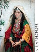 Vriendt Albrecht De - Portrait of a Jewish Bride from Bethlehem 1... Редакционное фото, фотограф Artepics / age Fotostock / Фотобанк Лори