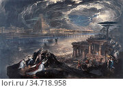 Martin John - the Fall of Babylon, Cyrus the Great Defeating the ... Редакционное фото, фотограф Artepics / age Fotostock / Фотобанк Лори