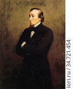 Millais John Everett - Benjamin Disraeli 1st Earl of Beaconsfield... Редакционное фото, фотограф Artepics / age Fotostock / Фотобанк Лори