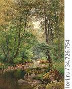 Palmer Harry Sutton - Ullswater 3 - British School - 19th Century. Редакционное фото, фотограф Artepics / age Fotostock / Фотобанк Лори