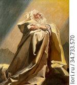 Salisbury Frank Owen - Moses the Friend of God - British School - ... Редакционное фото, фотограф Artepics / age Fotostock / Фотобанк Лори
