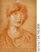 Solomon Simeon - Leonora D 'este - British School - 19th Century. Редакционное фото, фотограф Artepics / age Fotostock / Фотобанк Лори