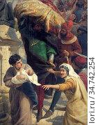 Topham Frank William Warwick - the Fall of Rienzi the Last Roman ... Редакционное фото, фотограф Artepics / age Fotostock / Фотобанк Лори