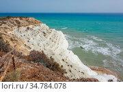 An image of the ocean beach at Sicily Italy. Стоковое фото, фотограф Zoonar.com/magann / easy Fotostock / Фотобанк Лори