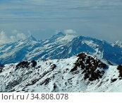 Berg, berge, winte, schnee, natur, landschaft, pinzgau, gerlospass... Стоковое фото, фотограф Zoonar.com/Volker Rauch / easy Fotostock / Фотобанк Лори