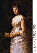 Melchers Gari - Helen Lathrop Prall - Dutch School - 19th Century. (2020 год). Редакционное фото, фотограф Artepics / age Fotostock / Фотобанк Лори