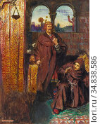 Shaw John Liston Byam - King of Scots and Andrea Browne - British... Редакционное фото, фотограф Artepics / age Fotostock / Фотобанк Лори
