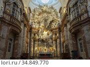 Altar der barocken Karlskirche in Wien, Österreich, Europa | baroque... Стоковое фото, фотограф Peter Schickert / age Fotostock / Фотобанк Лори